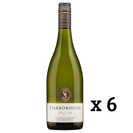 STARBOROUGH SAUVIGNON BLANC X 6 BOTTLES