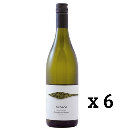 TOTARA MARLBROUGH SAUVIGNON BLANC X 6 BOTTLES