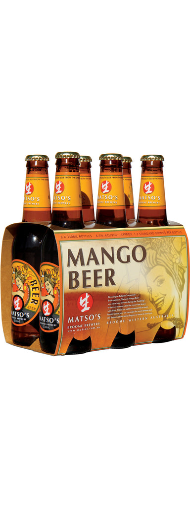 MATSOS MANGO BEER 330ML X 6