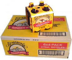BUNDABERG GINGER BEER 375ML X 24