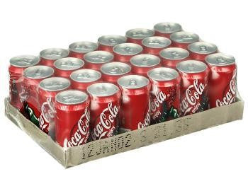 COKE 375ML CAN X 24