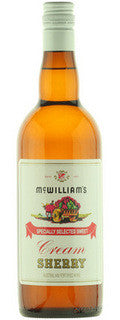 MCWILLIAMS RR CREAM SHERRY 750ML