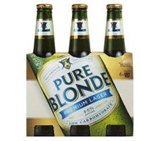 PURE BLONDE PREMIUM LOW CARB 330ML X 6
