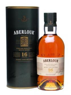 ABERLOUR 16 YEAR OLD DOUBLE CASK MATURED SPEYSIDE SINGLE MALT