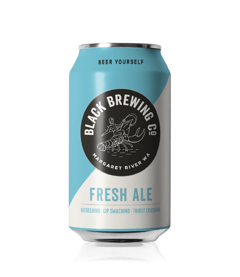 BLACK BREWING FRESH ALE 375ML X 24