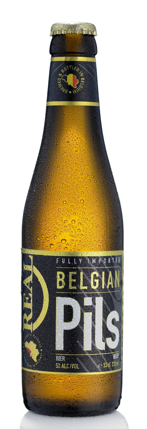 REAL BELGIAN PILS BY BRASSERIE DE SILLY 330ML X 24