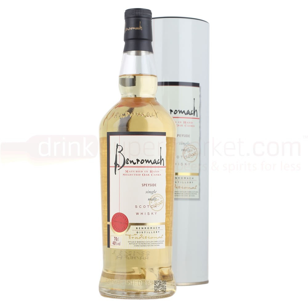 BENROMACH TRADITIONAL SPEYSIDE SINGLE MALT