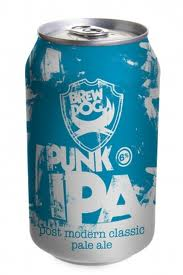 BREWDOG PUNK IPA CAN 330ML