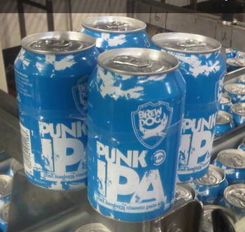 BREWDOG PUNK IPA CAN 330ML X 4