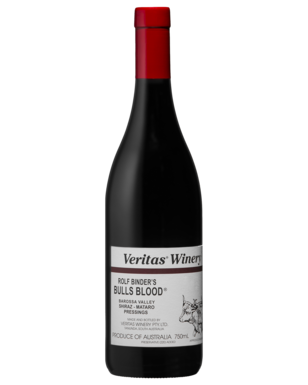 VERITAS BULLS BLOOD SHIRAZ MATARO BY ROLF BINDER
