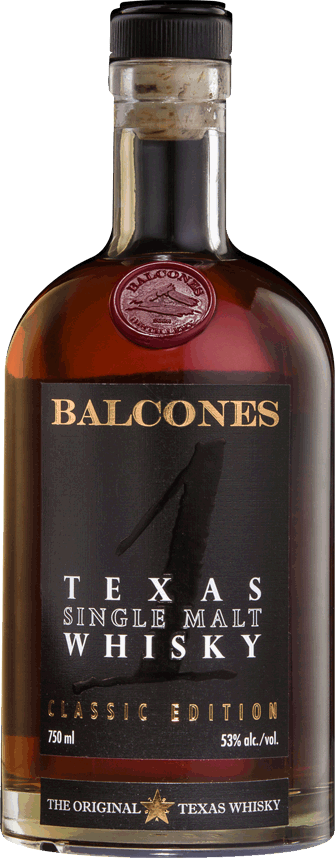 Balcones Texas Single Malt Whisky Classic Edition 53% ABV