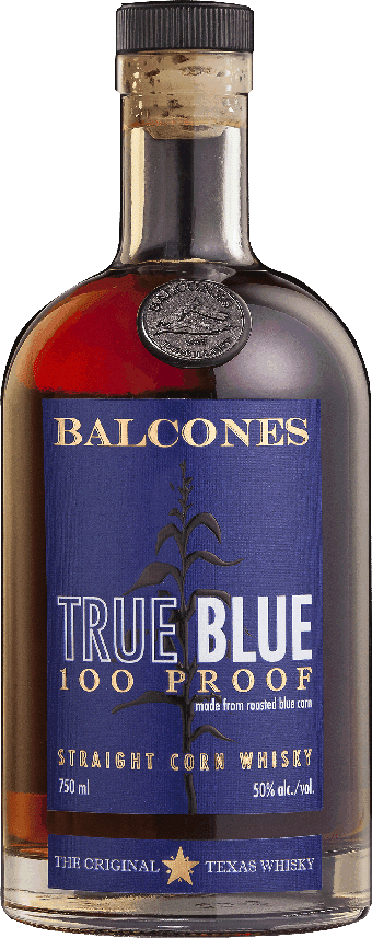 Balcones True Blue Cask Strength Pot Distilled Straight Corn 63.1% ABV
