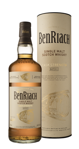 BENRIACH CASK STRENGTH BATCH 2 60.6% SPEYSIDE SINGLE MALT 700ML