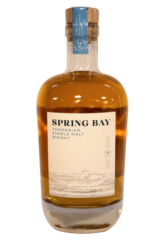Spring Bay Tasmanian Single Malt Whisky Bourbon Cask 46% 700ML