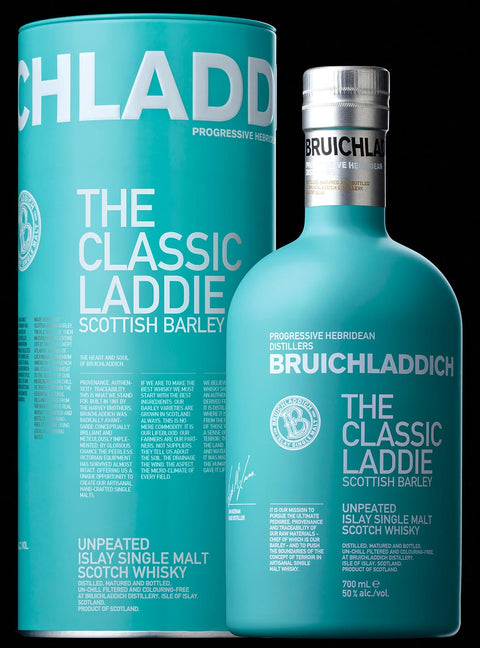 BRUICHLADDICH CLASSIC SCOTTISH BARLEY ISLAY SINGLE MALT