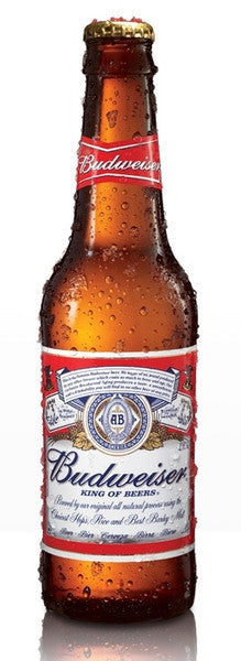 BUDWEISER BEER 355ML