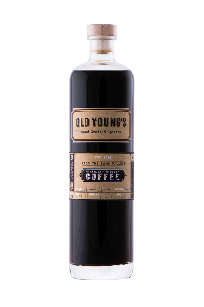 OLD YOUNGS COLD DRIP COFEE VODKA 700ML