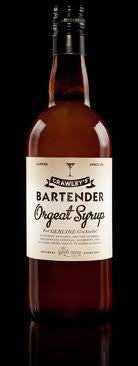 CRAWLEYS BARTENDER ORGEAT SYRUP 750ML