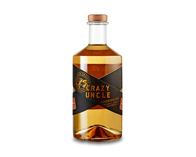 CRAZY UNCLE BARREL AGED MOONSHINE BY WHIPPER SNAPPER