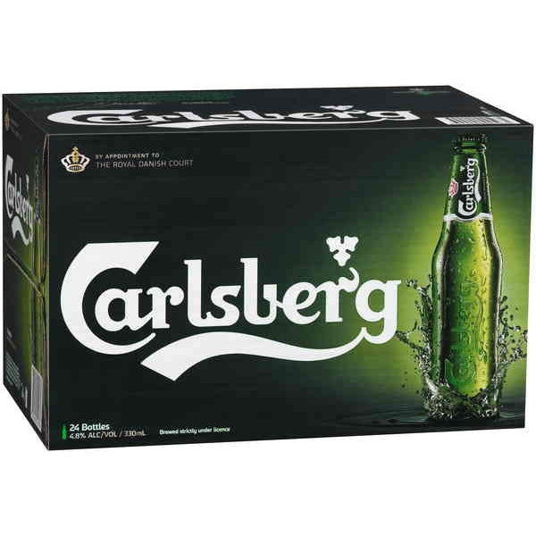 CARLSBERG BEER 330ML X 24