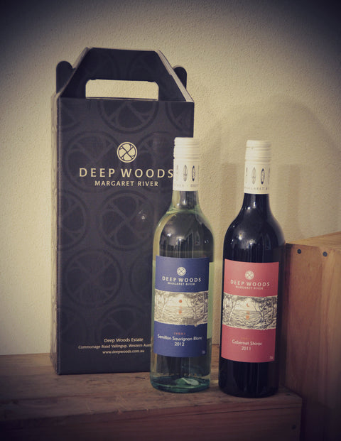 DEEP WOODS TWIN PACK (SHIRAZ CABERNET & SEMILLON SAUVIGNON BLANC)