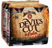 JIM BEAM DEVILS CUT 375ML X 4