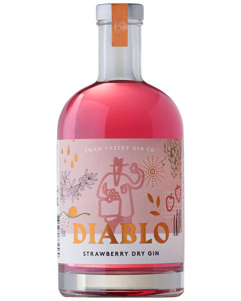 SWAN VALLEY GIN CO STRAWBERRY GIN 700ML