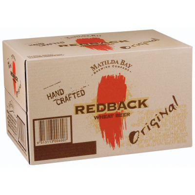 REDBACK ORIGINAL WHEAT BEER 345ML X 24