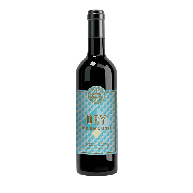 ADELAIDE HILLS DISTILLERY DRY VERMOUTH 750ML