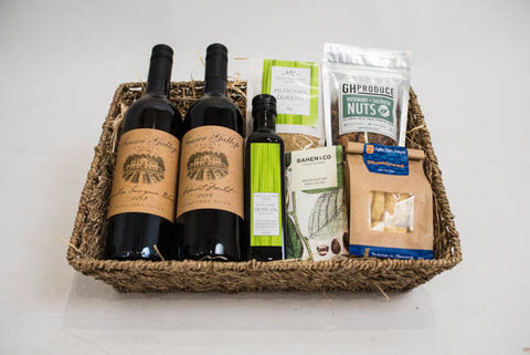 """A Little Luxury"" Gift Basket"