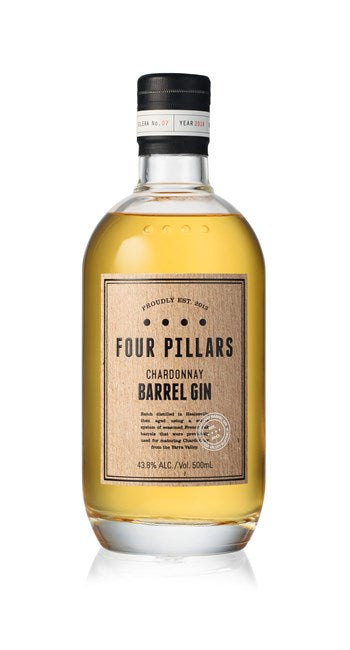 FOUR PILLARS CHARDONNAY BARREL GIN 43.8% 500ML