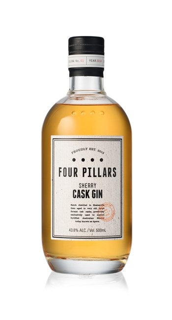 FOUR PILLARS SHERRY CASK GIN 43.8% 500ML
