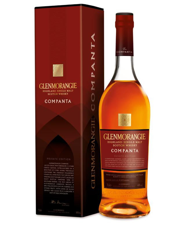 GLENMORANGIE COMPANTA HIGHLAND SINGLE MALT
