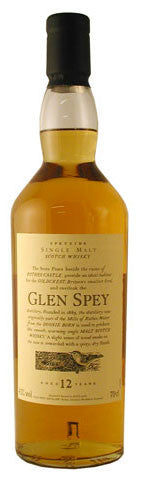 GLEN SPEY 12 YR OLD FLORA & FAUNA SPEYSIDE SINGLE MALT