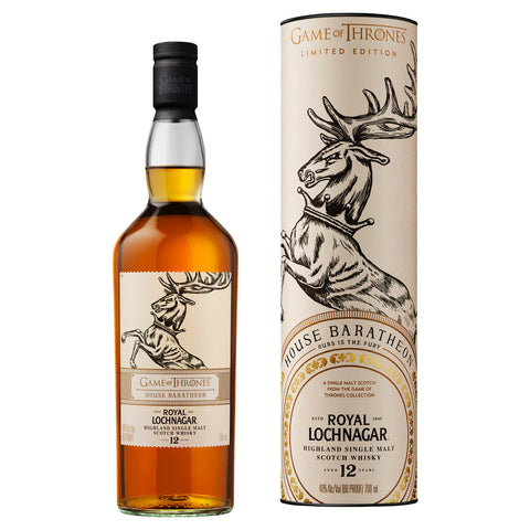 Game of Thrones House Baratheon Royal Lochnagar 12 Year Old 40%