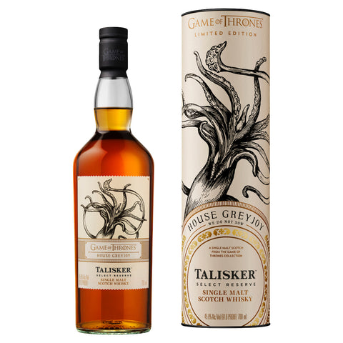 Game of Thrones House Greyjoy Talisker Select Reserve 45.8%