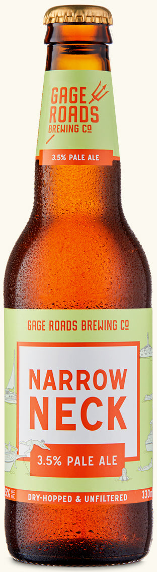 GAGE ROADS NARROW NECK PALE ALE 3.5%  X 24