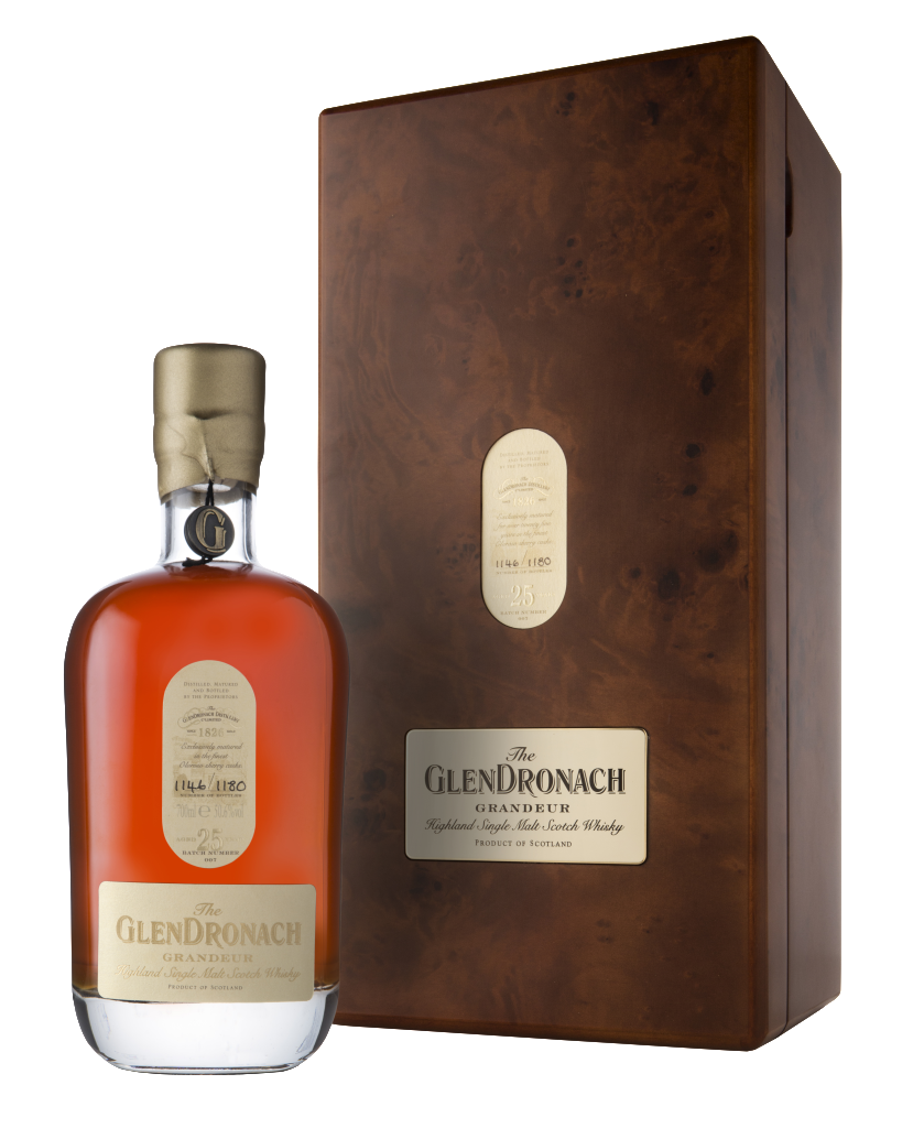 GLENDRONACH GRANDEUR 25 YEARS OLD BATCH 007 BOTTLE 872/1180