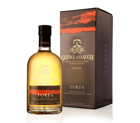 GLENGLASSAUGH TORFA RICHLY PEATED HIGHLAND SINGLE MALT 50%
