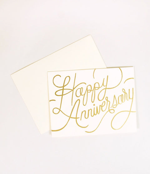 HAPPY ANNIVERSARY - GIFT CARD