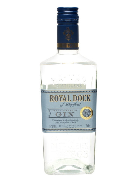 HAYMANS ROYAL DOCK NAVY STRENGTH GIN  57%700ML