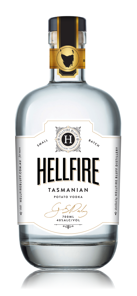 HELLFIRE BLUFF TASMANIAN POTATO VODKA 700ML 40%
