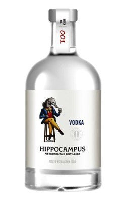 HIPPOCAMPUS METROPOLITAN DISTILLERY ORGANIC VODKA 700ML