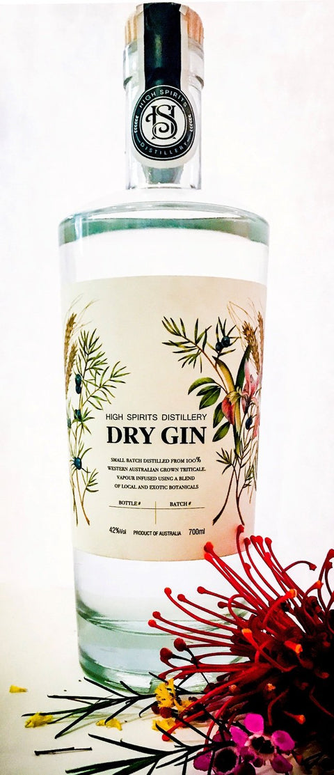 HIGH SPIRITS DISTILLERY DRY GIN 700ML
