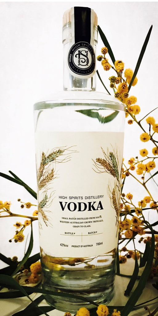 HIGH SPIRITS DISTILLERY VODKA 700ML