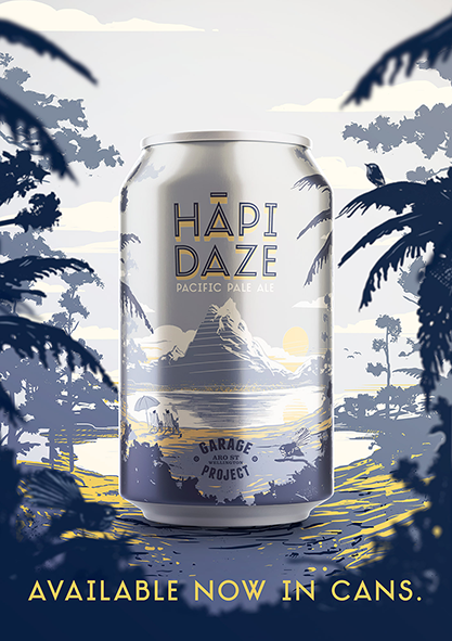 Garage Project HAPI DAZE 330ml can x 4
