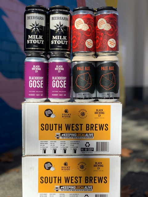 SOUTH WEST BREWS MIXED CUBE - LIMITED RELEASE