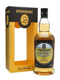SPRINGBANK 11 YR OLD LOCAL BARLEY 53.1% CAMPBELTOWN SINGLE MALT