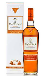 MACALLAN 1824 SIENNA SERIES SHERRY CASK HIGHLAND SINGLE MALT