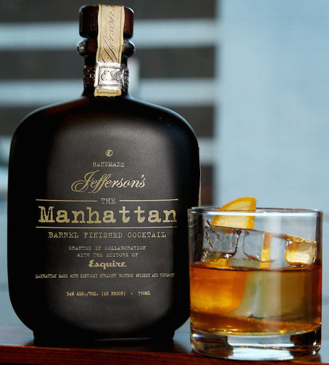 JEFFERSON'S THE MANHATTAN BARREL AGED COCKTAIL 34% 750ML
